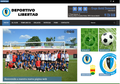 web-deportivolibertad